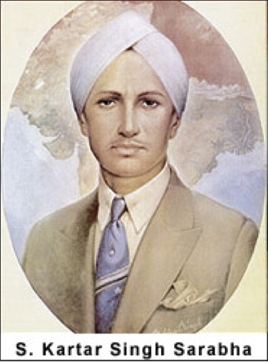 Image result for kartar singh sarabha